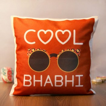 The Cool Bhabhi Printed Cushion