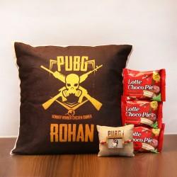 Personalised PUBG ChocoPie Rakhi