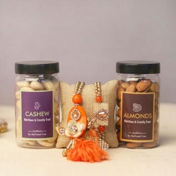 Healthful Bhaiya N Bhabhi Rakhi Gift