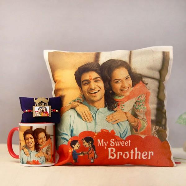 All Personalised Rakhi Combo