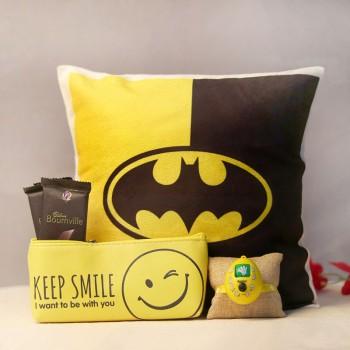 Keep Smiling Rakhi Gift
