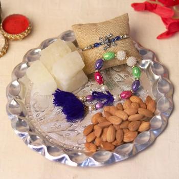 rakhi pooja thali
