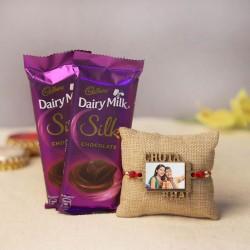 Sweetness Stuffed Rakhi Gift