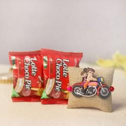 Cheerful Chhota Bheem Rakhi Gift