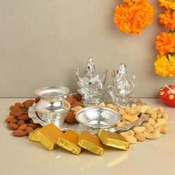 Blissful Ganesh Laxmi Thali Combo