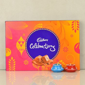 Cadbury Celebration with Diwali Diyas