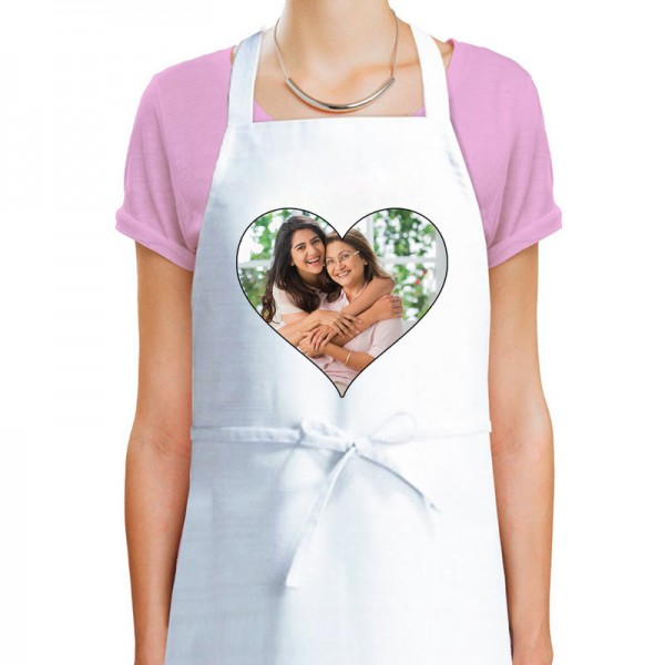 Personalised Photo Printed Apron for Mom