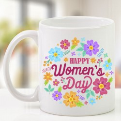 Floral Womens Day Mug