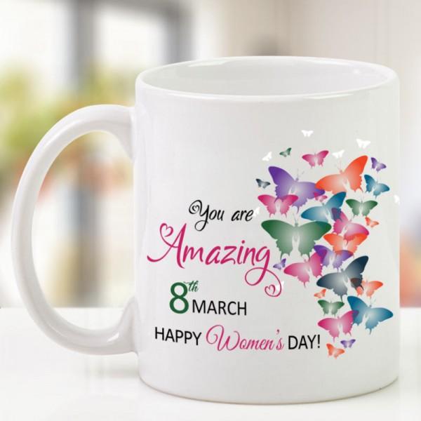 Womens Day Printed Mug