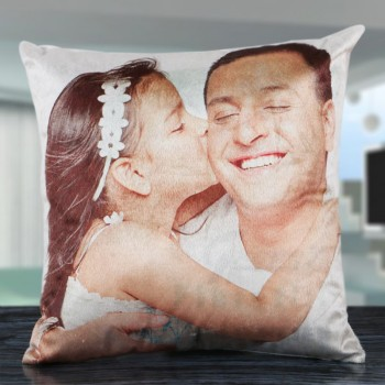 Personalised Cushion for Daddy