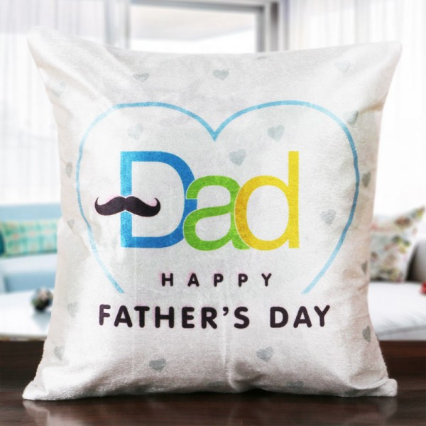 Happy Fathers Day Cushion