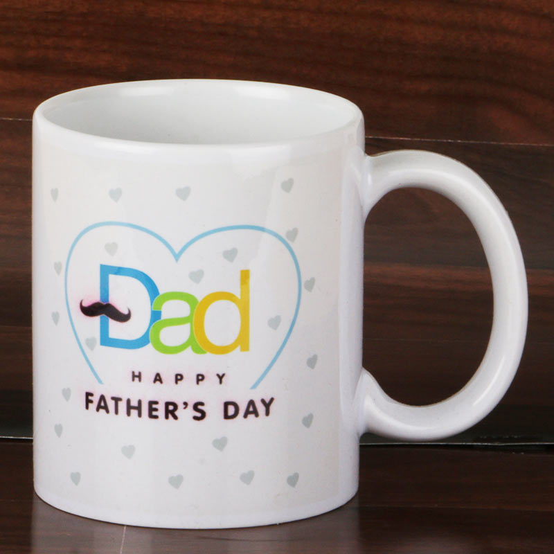 Daddy Heart Mug