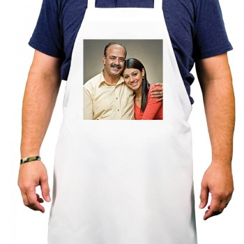 Personalised Photo Printed Apron for Dad