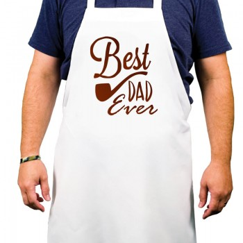 Best Dad Ever Printed Apron