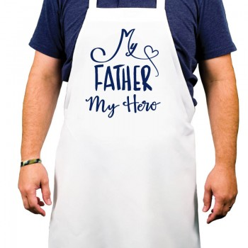 My Father My Hero Printed Apron