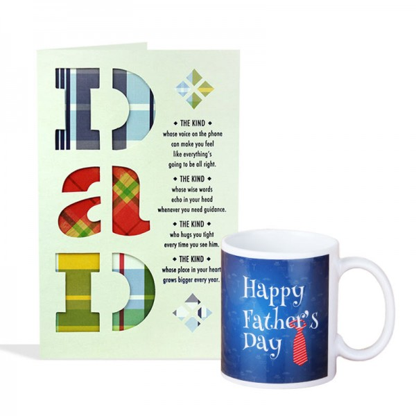 Card And Mug For Dad
