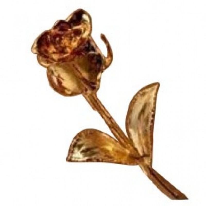 Gold Sprayed Rose