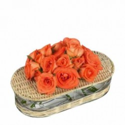 Roses in Tray