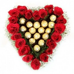 Heart Shaped Flowers For Valentine S Day Valentine Red Roses Heart