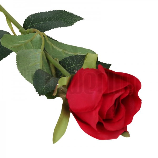 1 Stick Of Red Artificial Rose