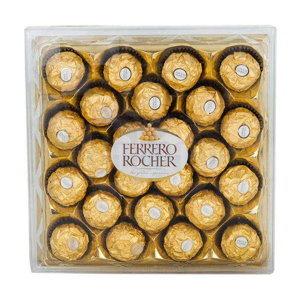 24 pieces Ferrero Rochers