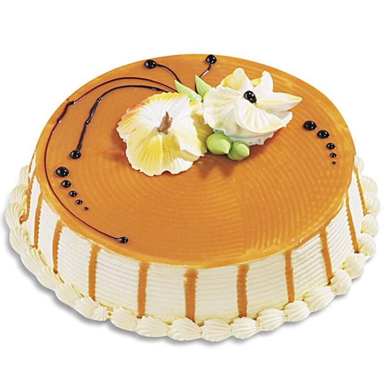 Eggless Butterscotch Cake 500 Grams