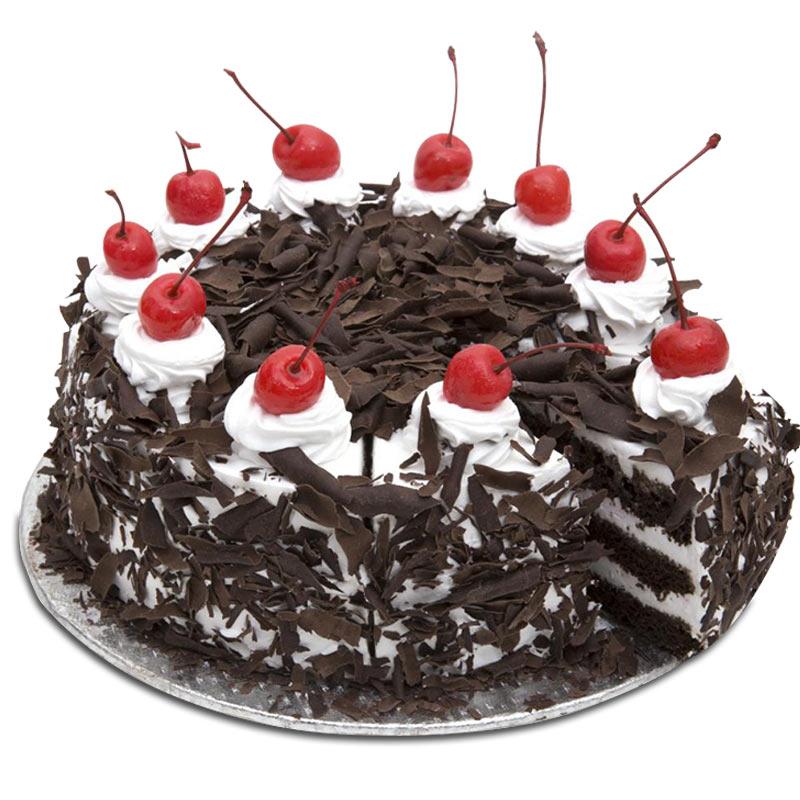 Eggless Blackforest Cake 500 Grams