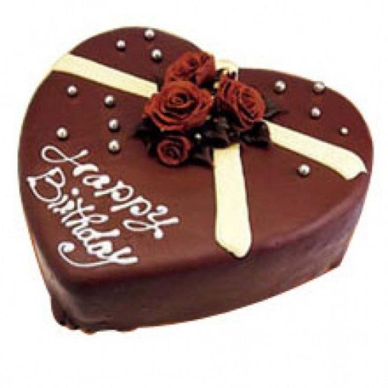 1 Kg Heart Shape Cake