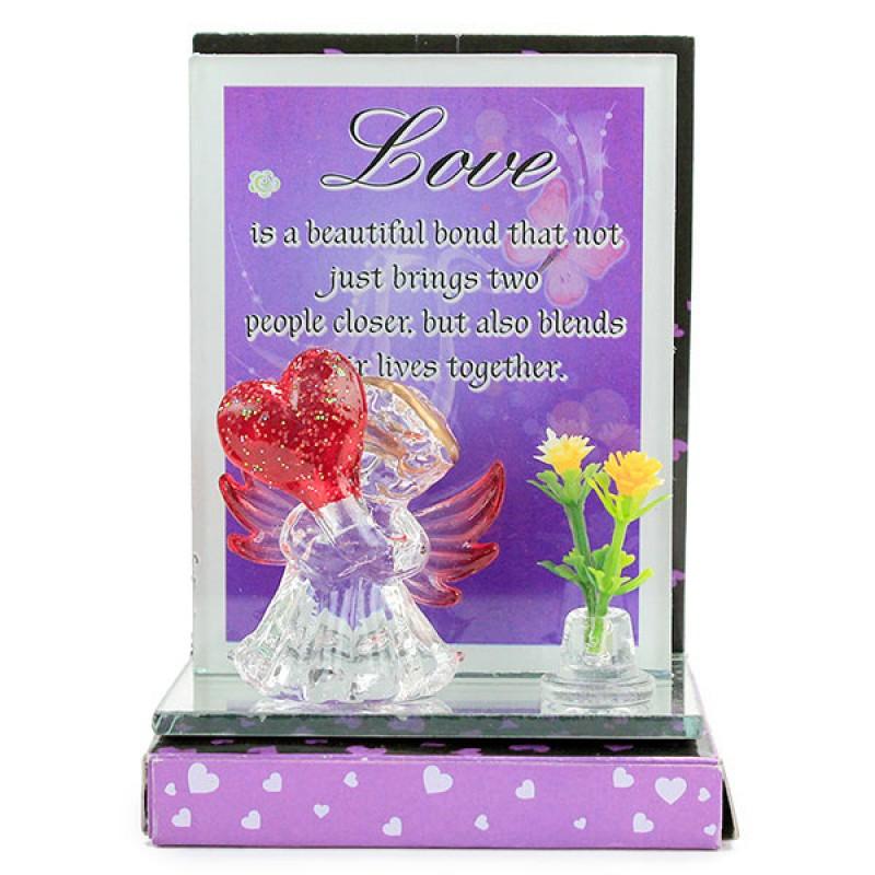 Love Gesute glass Quotation