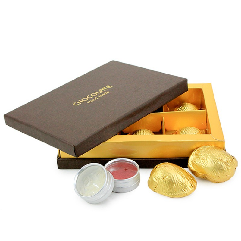 Lucious Chocolate Box For Bhai Hamper