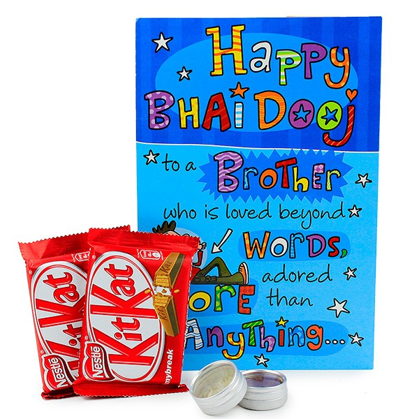 Kit Kat With Bhai Dooj Card