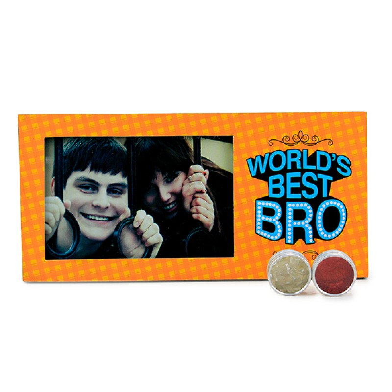 Photo Frame For Best Brother Hamper