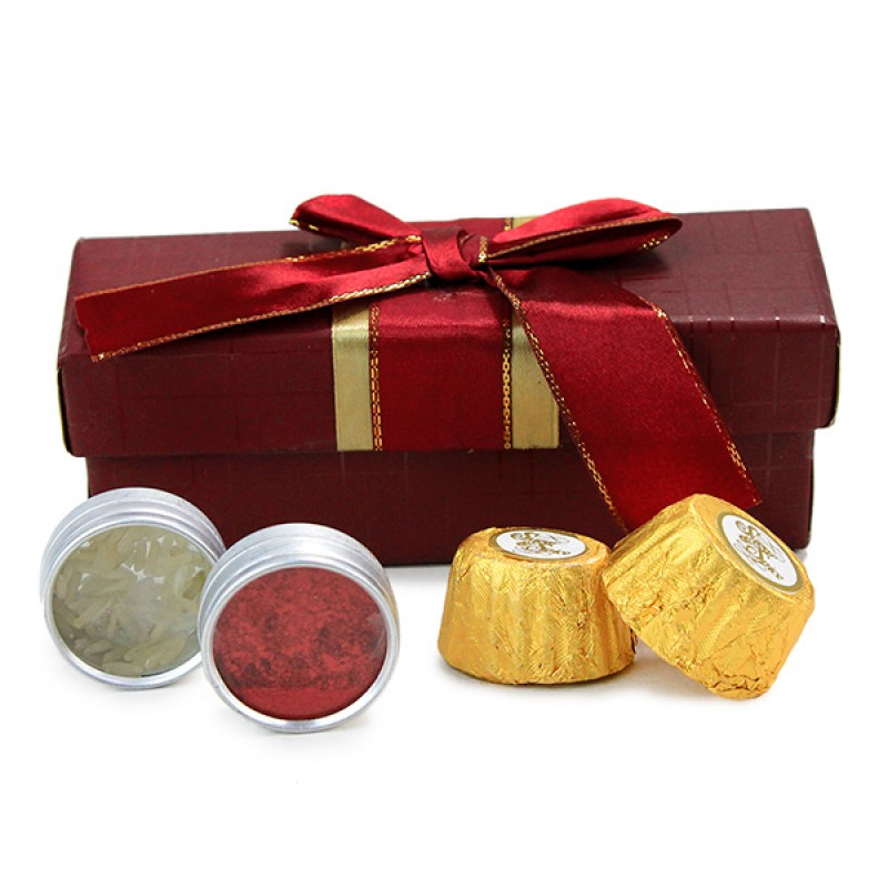 Delicious Chocolate Box n Greeting Card