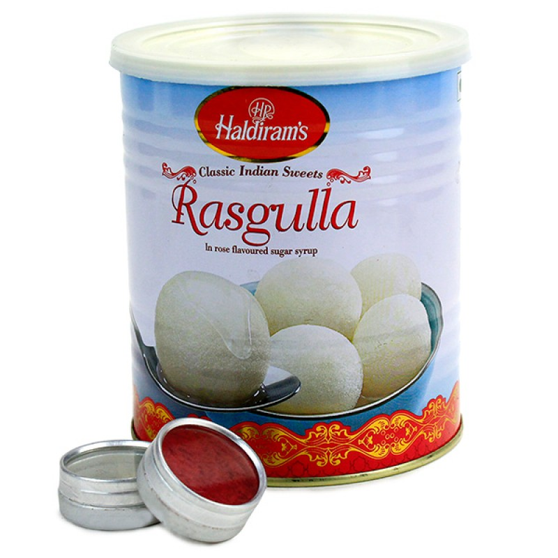 Rasgulla Treat For Brother