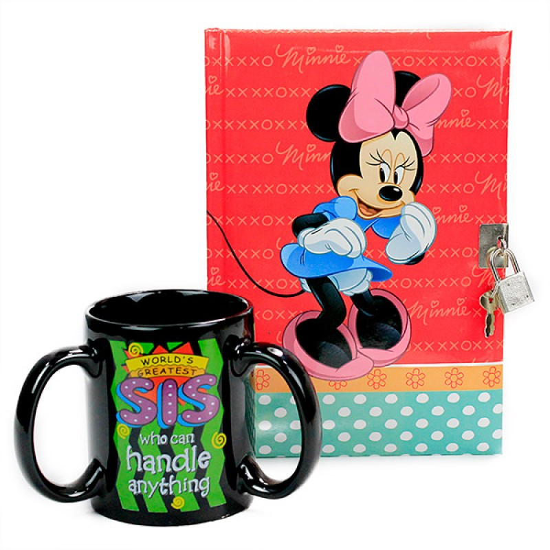 Mug n Notebook For My Lovely Sister