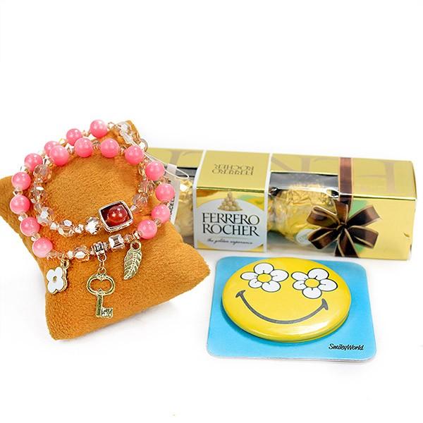 Charm Bracelet n Ferrero Rocher Hamper