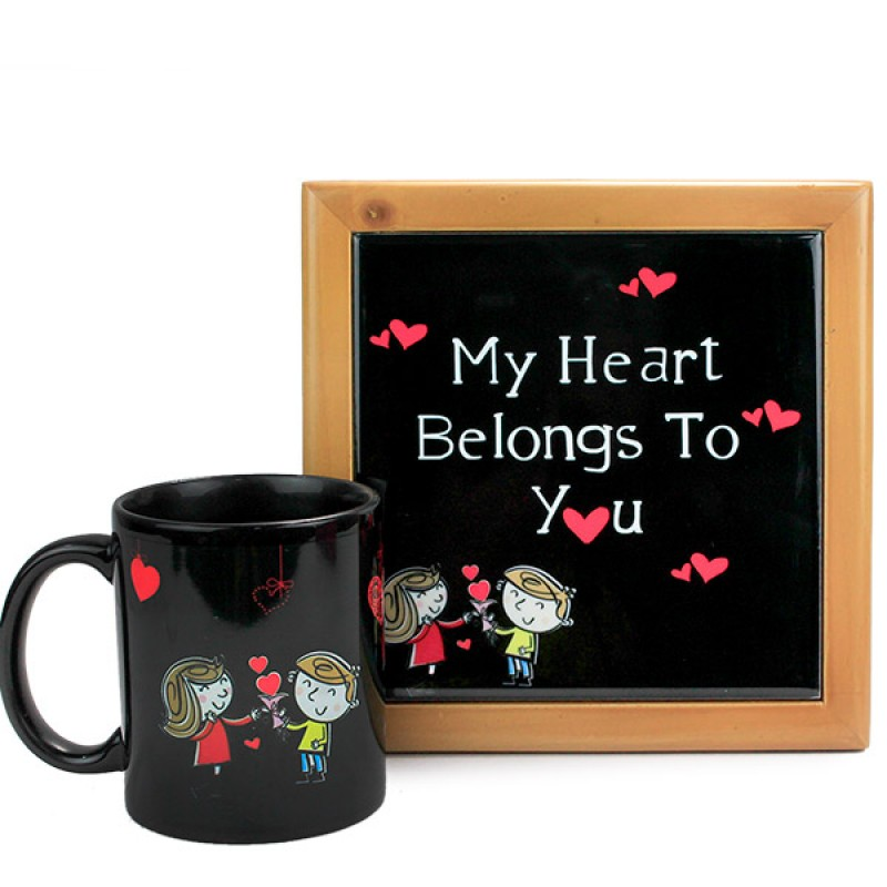 Heart Chime Hamper