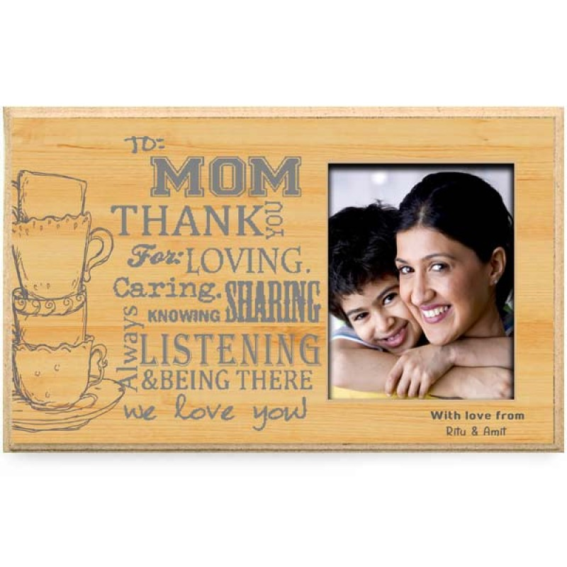 Thank You Mommy Personalised Plaque