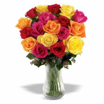 18 Mix Roses Bouquet