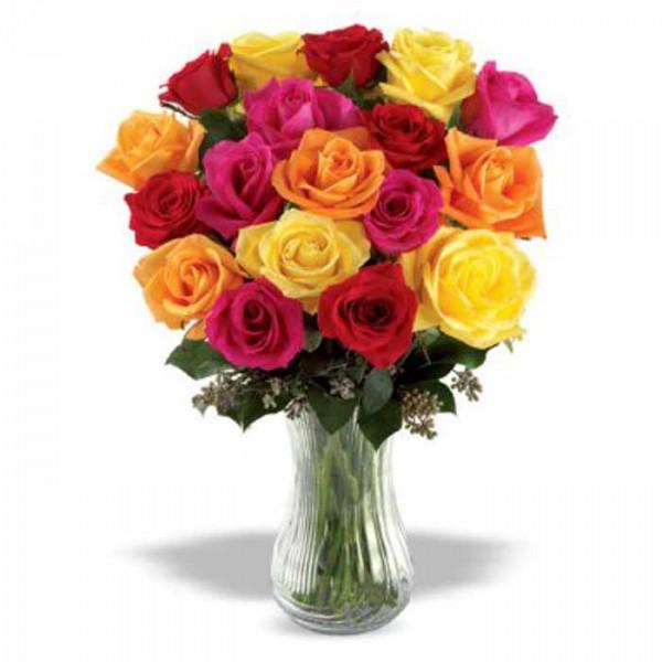 18 Mix Roses Bouquet