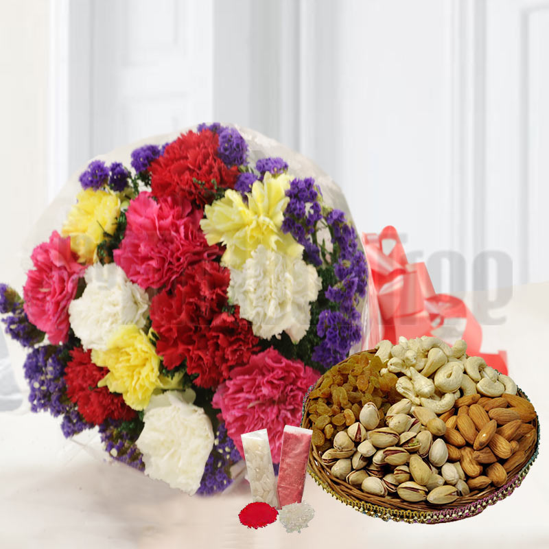 Assorted Flowers and Fruits
