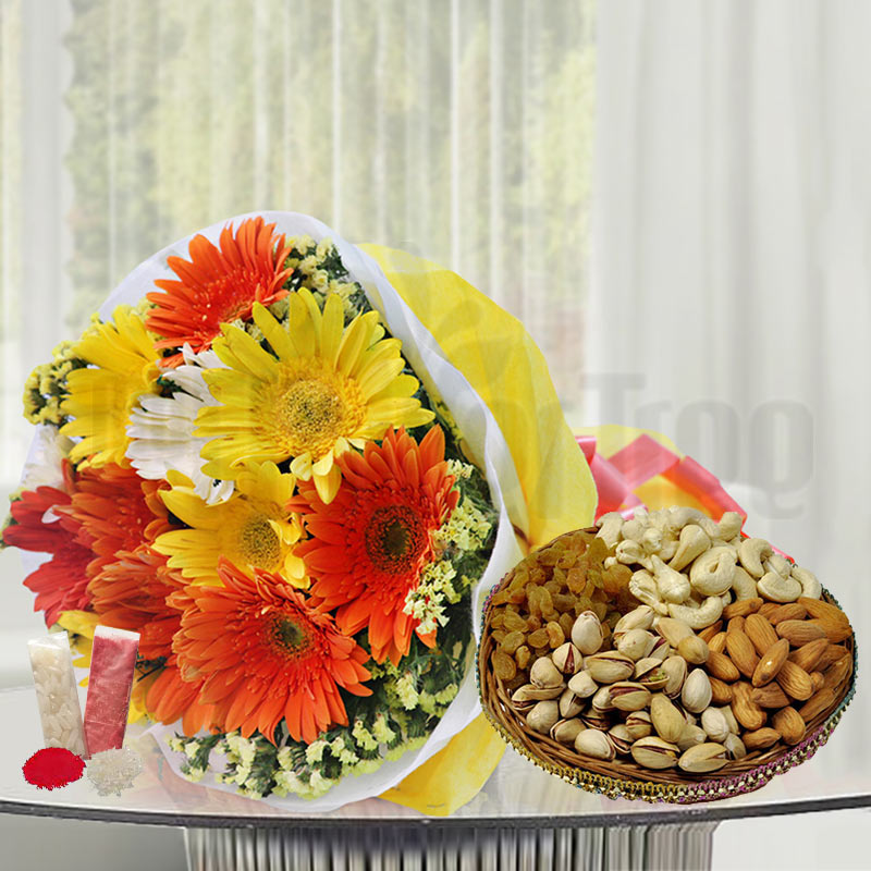 Colours with Dry Fruits