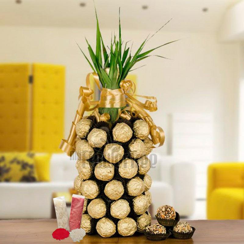 Pineapple of Chocolate