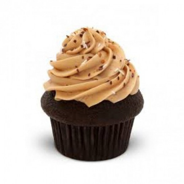 Set of 4 Mocha Flavored Cupcakes