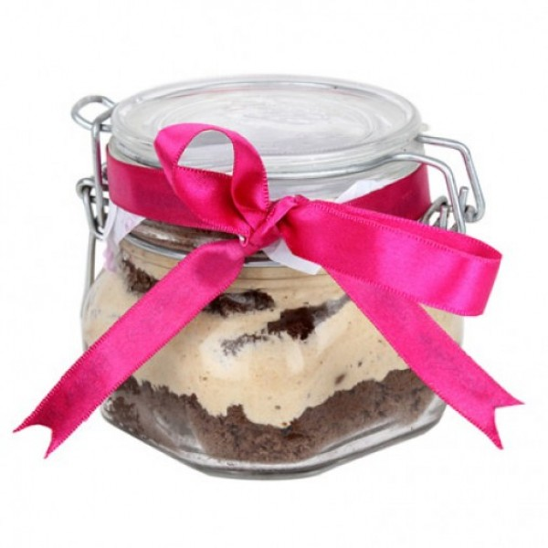 Mud Cake in a Jar