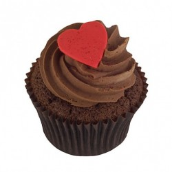 Hearty Chocolate Cupcake