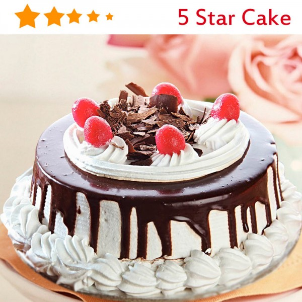 Half Kg Black Forest 5 Star Cake