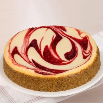 Half Kg Strawberry Cheesecake