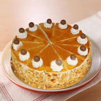 Half Kg Butterscotch Cream Cake