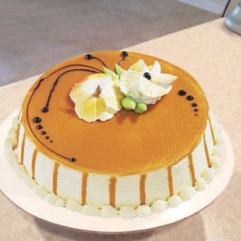 Half Kg 5 Star Butterscotch Cake